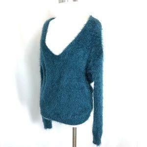Alya Scoop Neck Knot Back Sweater